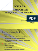 LECTURE 4-BJT FREQUENCY RESPONSE-NEW!!.PPT
