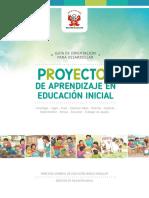 Guía de orientación para desarrollar Proyectos de Aprendizaje en Educación Inicial. TEXTO MINEDU.pdf