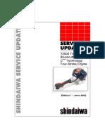 Shindaiwa C4 Engine Hibrid 4-2 Stroke