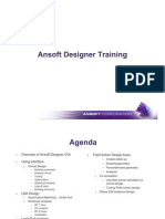 Ansoft - Designer Training