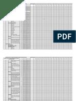 Excel Scheduling