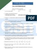 Ejercicios complementarios 4º Matemáticas - Tema 1 - Los números reales
