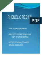 Phenolic Resins by P Maheshwar