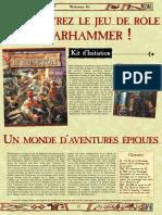 Warhammer JdR 2ed - Kit d'initiation