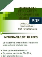 Membranas Celulares y Transporte de Membranas3