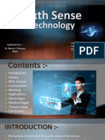 Sixth Sense Technology By Mr. A.pptx