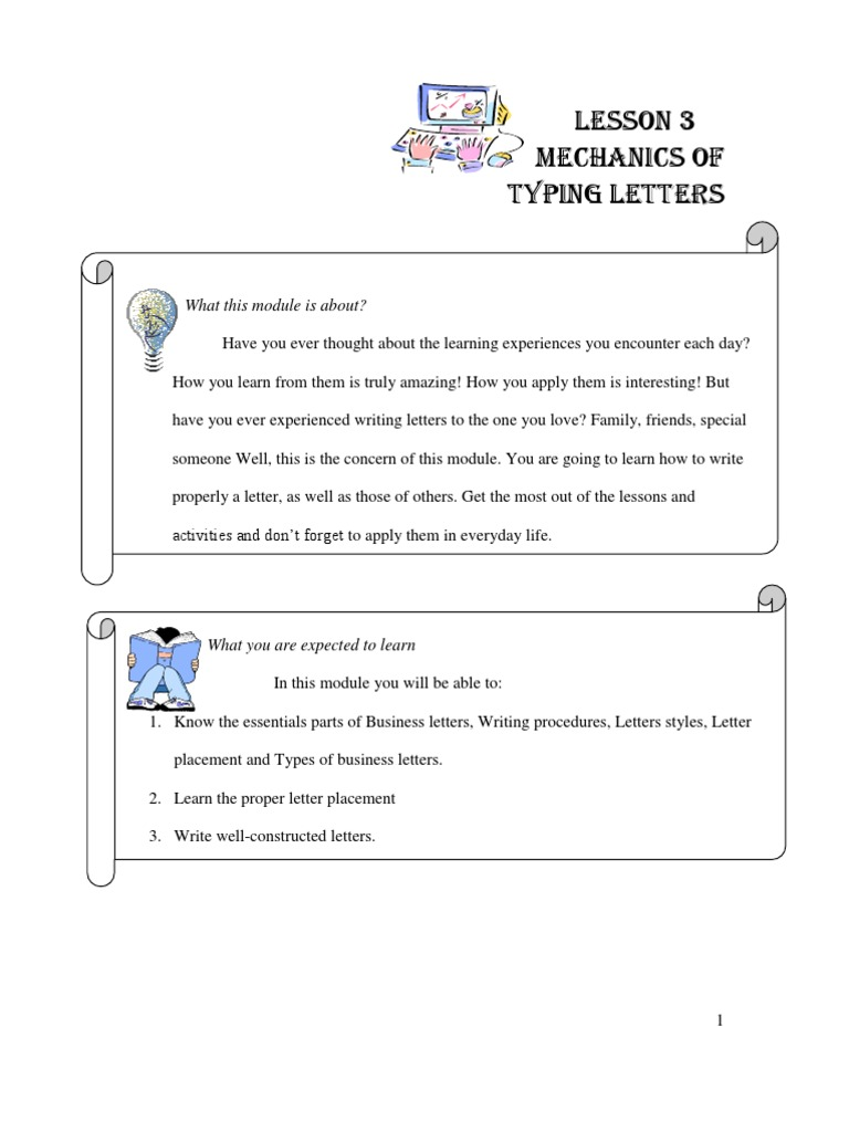 Standard Business Letter Format Sample Friendly Letter For Kids