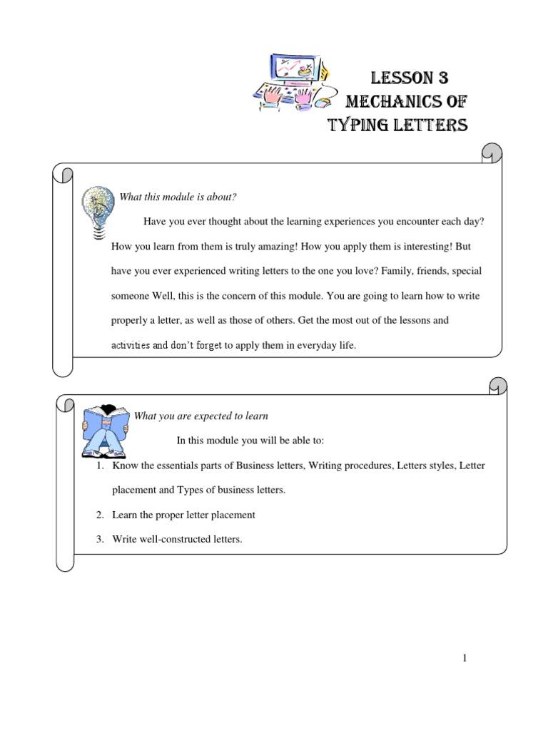 Standard Business Letter Format Sample Friendly Letter For Kids