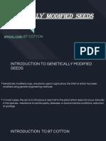 Genetic seeds