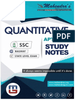 Maths Study Notes Ssc 16-08-18 English Version