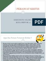 PERAN PERAWAT KRITIS KEL 2.pptx