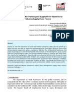 [20679785 - HOLISTICA – Journal of Business and Public Administration] Overcoming SMEs Financing and Supply Chain Obstacles by Introducing Supply Chain Finance