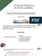 ANEXO_ Disposiciones de La Ley Postal