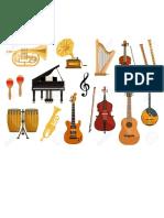 Musica prueba de instrumentos