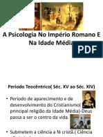 A Psicologia Idade Média