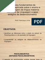 Visão Dos Fundamentos Da Linguística Aplicada Sobre o Ensino Aprendizagem Da Língua Materna