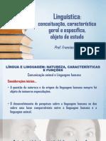 Linguística Conceituação Características e Objeto de Estudo