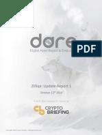 Zilliqa DARE Update Report 1 October 12 2018