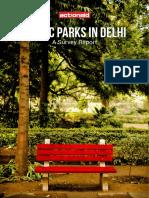 Public Park Survey Report PDF