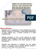 Presentation on Consumer Attitude