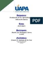 TAREA I EVALUACION DE LOS APRENDIZAJES EN LA EDUCACION BASICA.docx