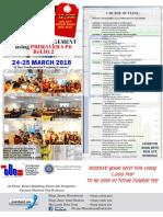 Primavera P6 - March 24-25 2018