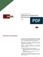 Propuesta de Consultoría en Comunicación Organizacional