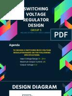 Voltage Regulator Buck
