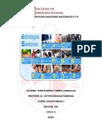 Estrategias Sanitarias II y III