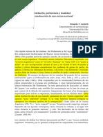 2018 Debates Actuales en Antropología - Programa