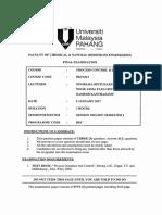 Bkf3413 Process Control & Dynamics 11617