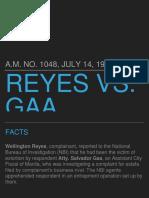 Reyes v. GAA