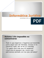Axiomas comunicacionales (1)