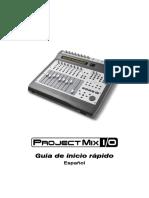 ProjectMix I_O Guia de Inicio Rapido