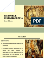 Historia e historiografía