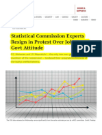 Statistical Commission Experts Resign in Protest Over Jobs Data