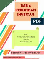 Bab 6 Keputusan Investasi.pptx