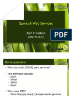 The Spring Experience Spring Web Services