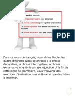 Grammaire Declarative