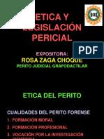 LEGISLACIÓN PERICIAL