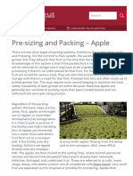 Pre-sizing and Packing – Apple