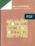 George Lamming - Los placeres del exilio.pdf