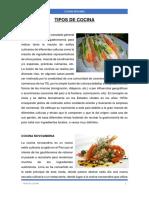 TIPOS DE COCINA.docx