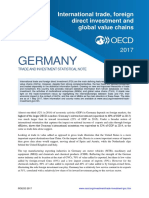 Germany Trade Investment Statistical Country Note 2017
