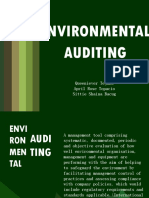 Environmental Auditing Final
