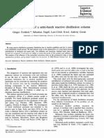 Optimal operation of a semi-batch reactive distillation column (2000)
