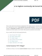 Tnt Village Migliore Community Torr