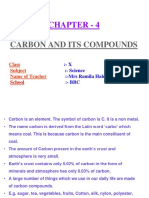 Carbon and Its Compounds 1