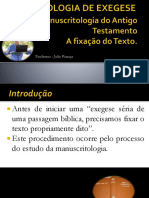 Exegese at - Manuscritologia1