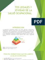 Legislacion y Normatividad de La Salud Ocupacional